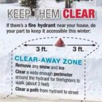 Help keep fire hydrants clear